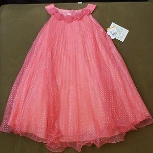 NWT Little Girls Easter Dress 6X